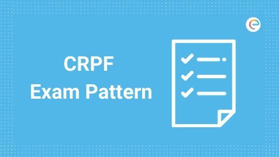 CRPF Exam Pattern