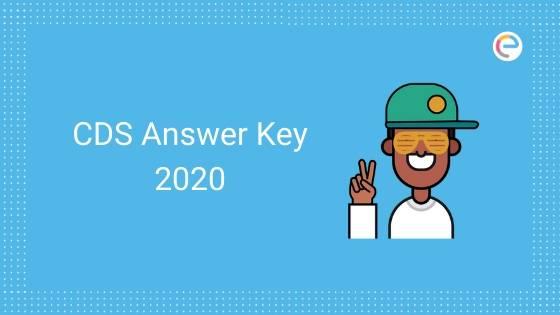 CDS Answer Key 2020 embibe