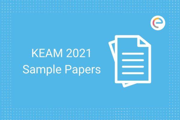 KEAM Sample Papers 2021