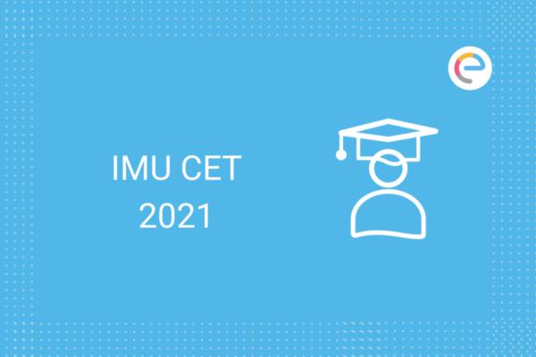 IMU CET 2021