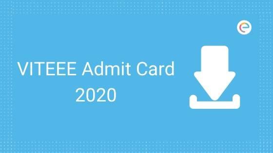 VITEEE Admit Card 2020