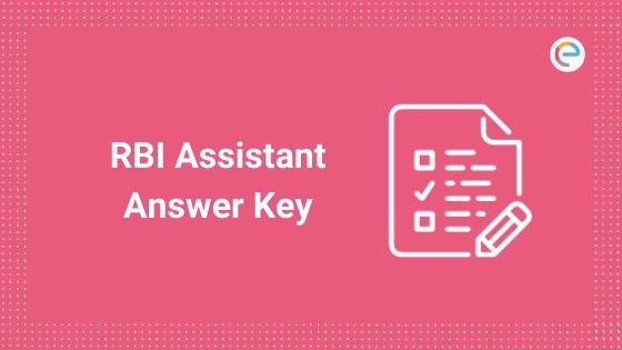 RBI Assistant Answer Key