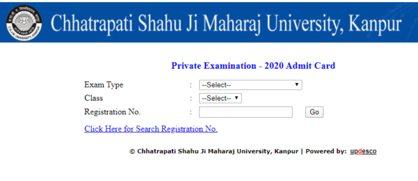 Official-Website-to-download-Kanpur-University-Admit-Card-2020