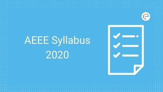 AEEE Syllabus 2020
