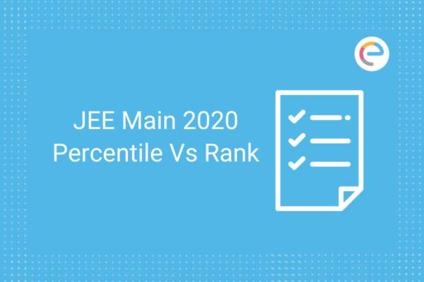 JEE Main Percentile Vs Rank