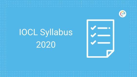 IOCL Syllabus