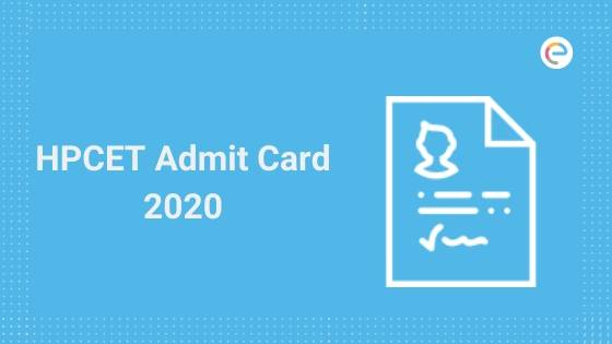 HPCET Admit Card 2020