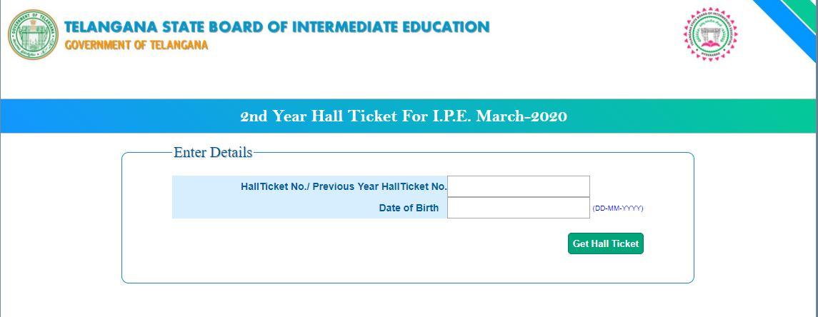 ts inter hall ticket 2020