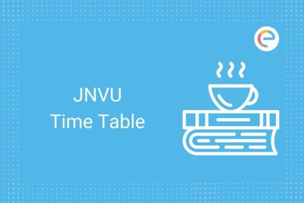jnvu time table