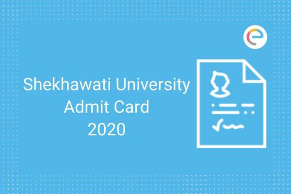Shekhawati University Admit Card