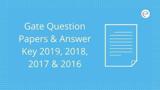 GATE Question Paper And Answer Key
