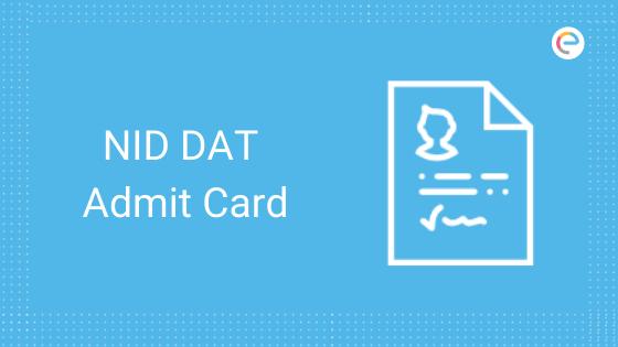 nid-dat-admit-card