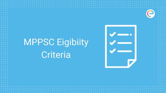 mppsc eligibility criteria
