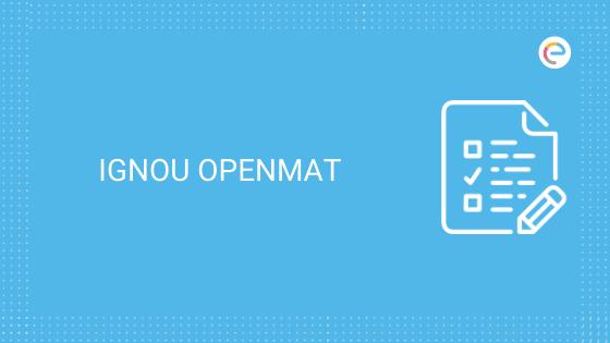 ignou-openmat