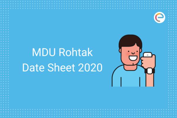 MDU Date Sheet 2020 embibe