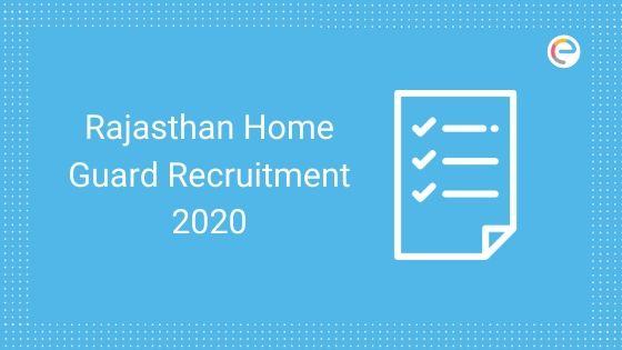 Rajasthan Home Guard Recruitment