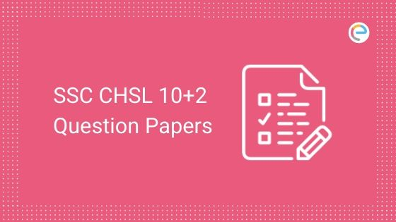 SSC CHSL Question Papers