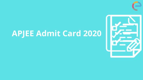 APJEE admit card
