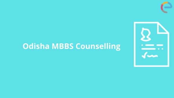 Odisha MBBS Counselling
