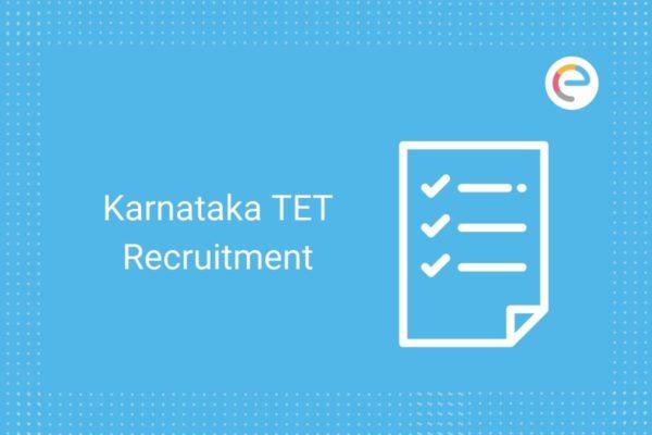 Karnataka TET Recruitment