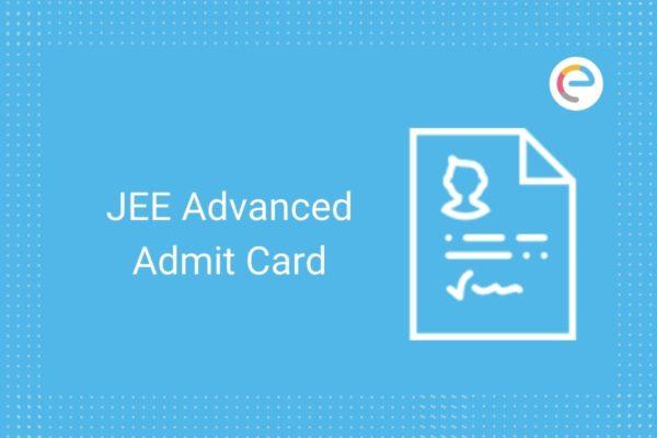 jee advanced admit card