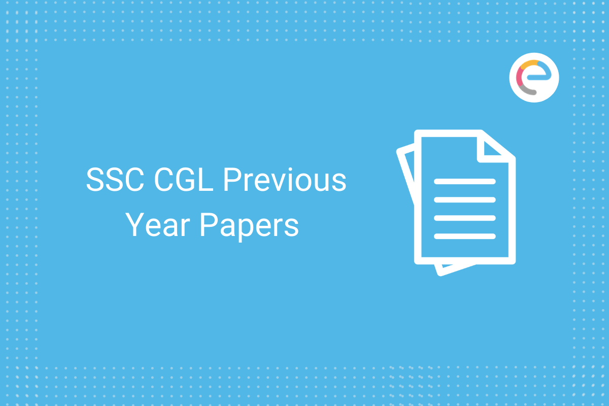 SSC CGL previous year papers: Download