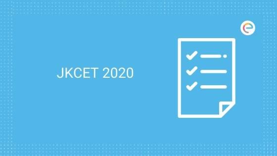 JKCET Notification 2020