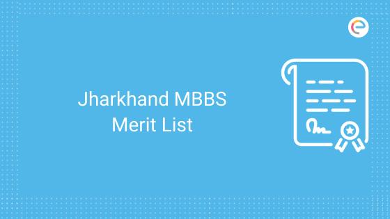 Jharkhand mbbs merit list