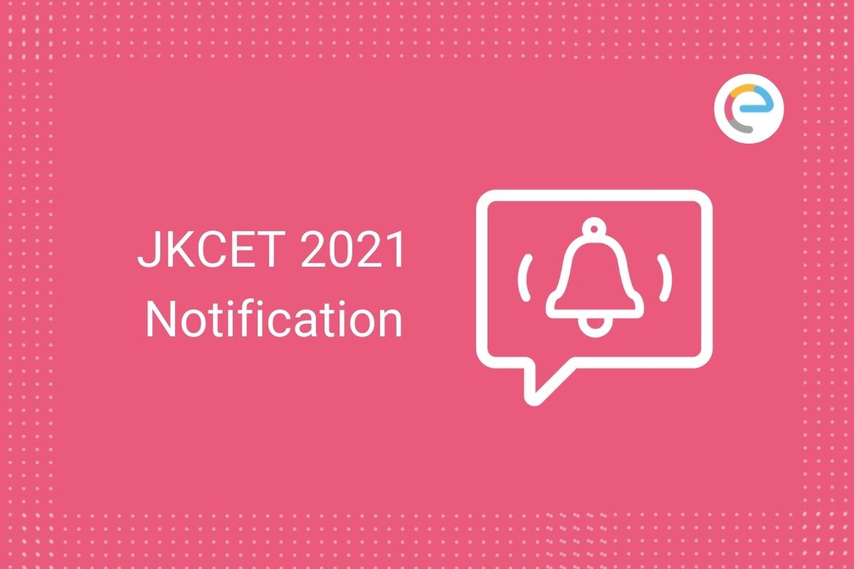JKCET Notification 2021