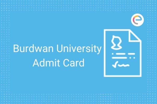 Burdwan University Admit Card