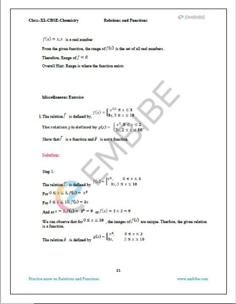 NCERT Solutions For Class 11 Maths Chapter 2 Miscellaneous Exercise