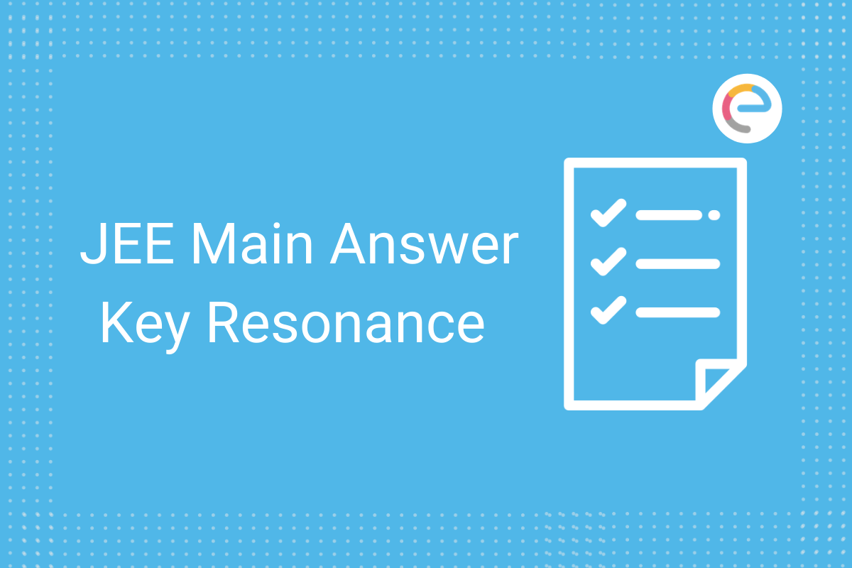 jee main answer key resonance