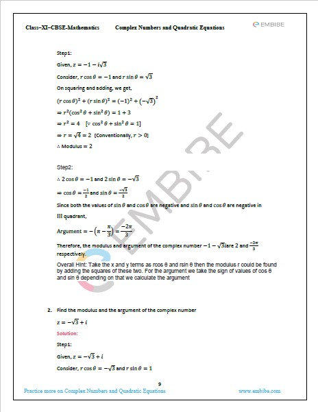 NCERT Solutions For Class 11 Maths Chapter 5 PDF Exercise 5.2