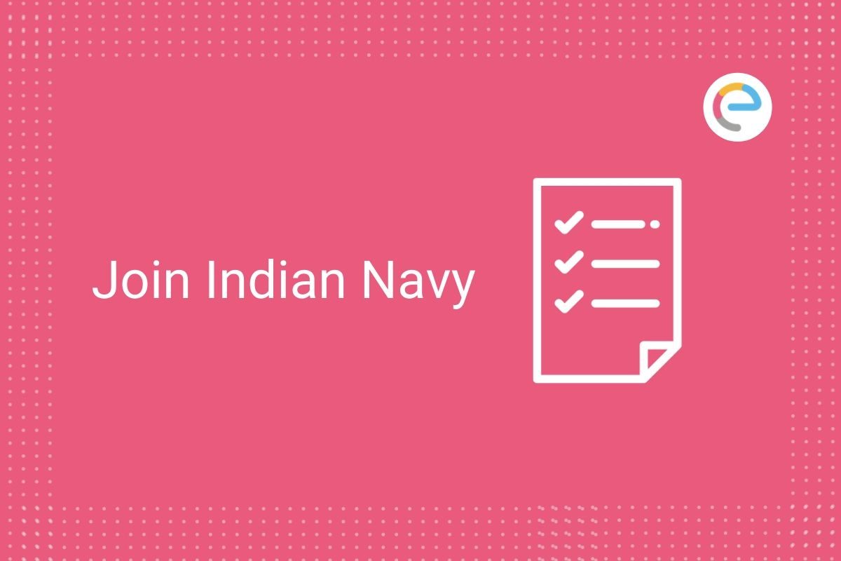 Join Indian Navy