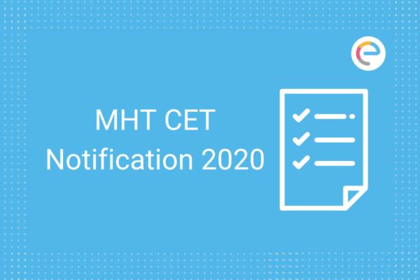 MHT CET Notification