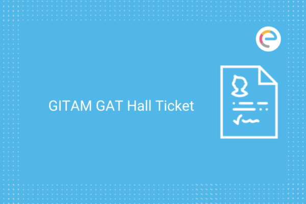 GITAM GAT Hall Ticket
