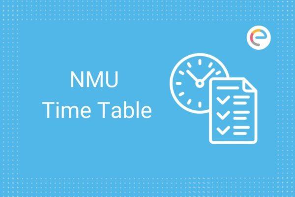 NMU Time Table