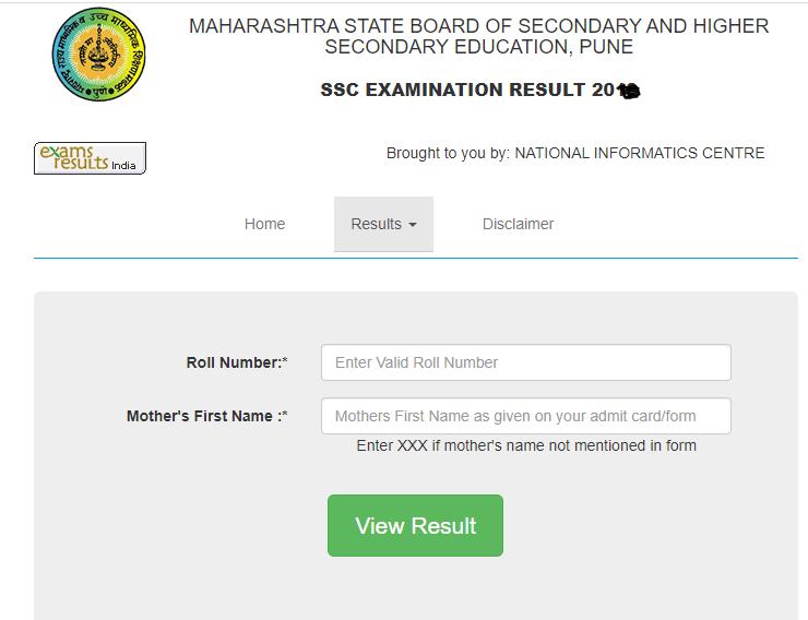 Maharashtra ssc result for class 10