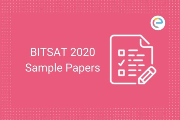 BITSAT Sample Papers