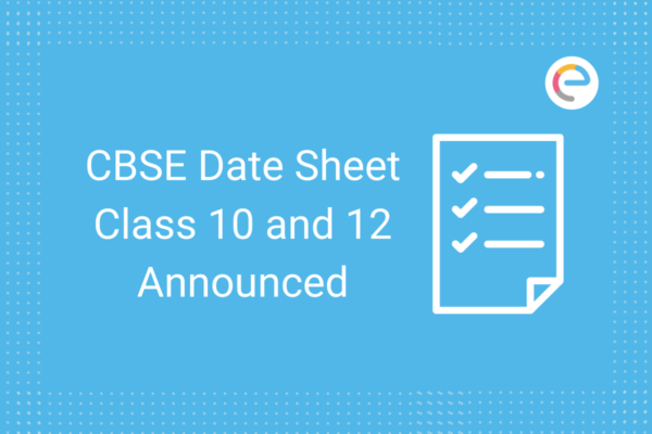 Class 10 & 12 Revised Date Sheet