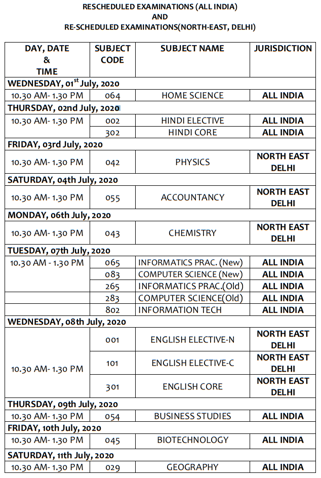 CBSE-Class-12-Date-sheet-2020-revised-official-11