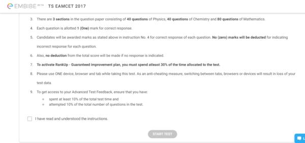 ts eamcet online mock test series