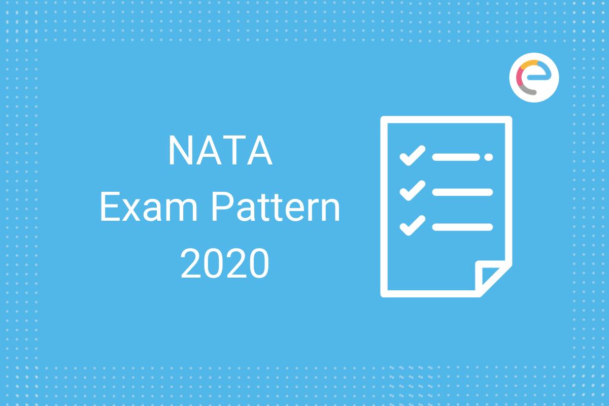 NATA Exam Pattern