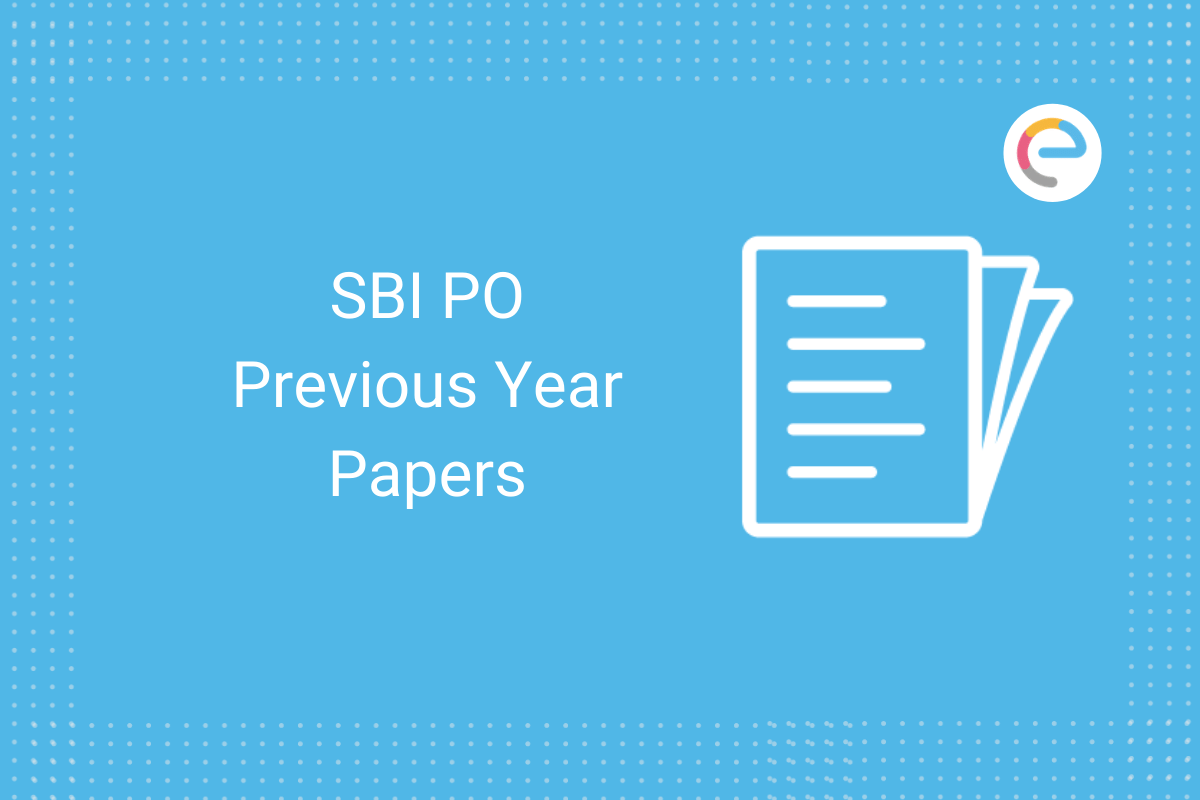 SBI PO previous year papers: Check