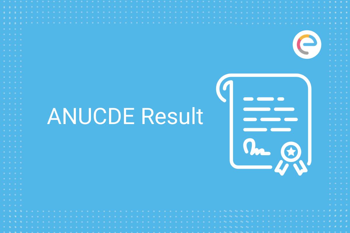 anucde result