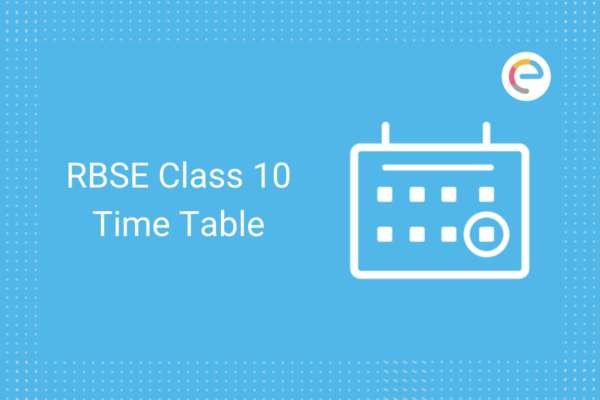 rbse class 10 time table