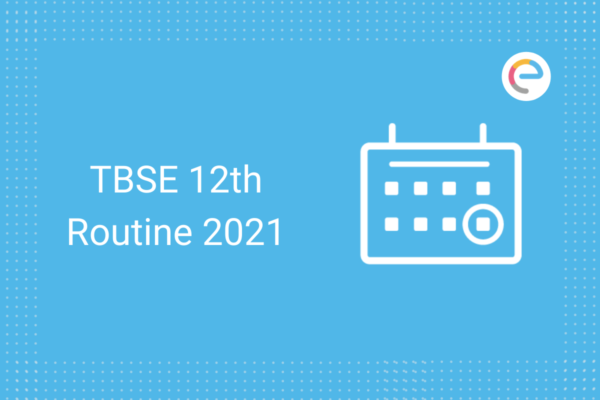 TBSE 12th routine