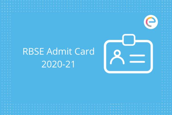 rbse admit card 2021