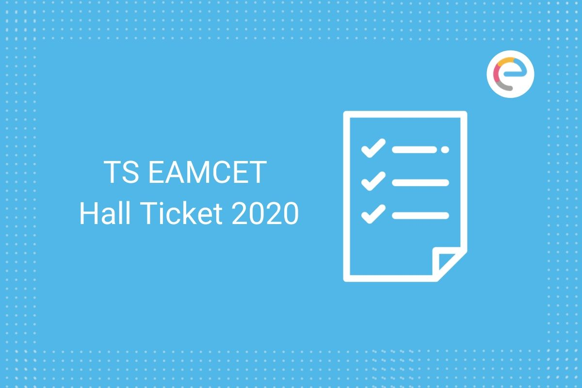 TS EAMCET Hall Ticket 2020