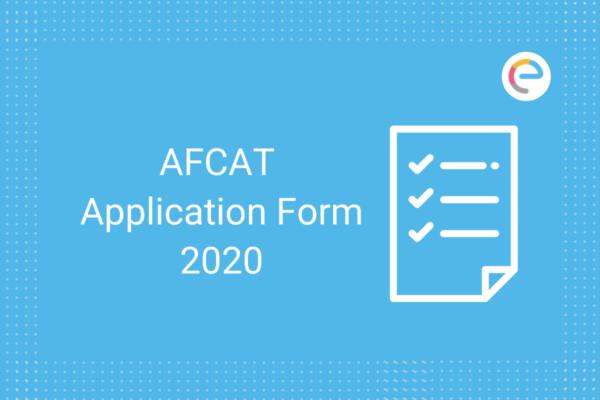 AFCAT Application Form